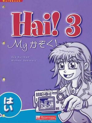 Hai! 3 Workbook by Sue Burnham