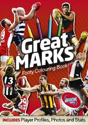 Great Marks Deluxe Colouring Books by Slattery Media Group