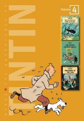Adventures of Tintin 4 Complete Adventures in 1 Volume book