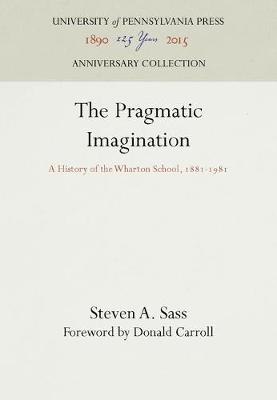 Pragmatic Imagination by Steven A. Sass