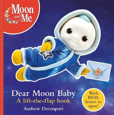 Dear Moon Baby: A letter-writing lift-the-flap book book