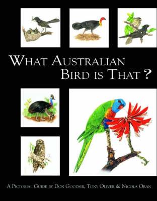 What Australian Bird is That? by Don Goodsir