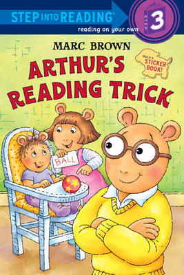 Arthur's Reading Trick book