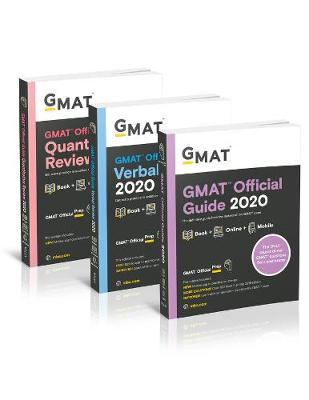 GMAT Official Guide 2020 Bundle: 3 Books + Online Question Bank by Graduate Management Admission Council (GMAC)