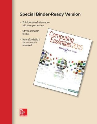 Computing Essentials 2015 Introductory Edition by Linda I. O'Leary