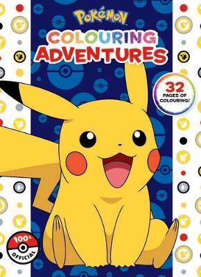 Pokemon: Colouring Adventures book
