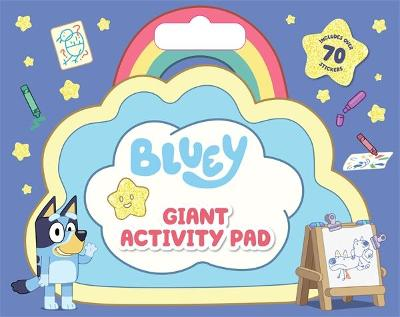 Bluey: Giant Activity Pad: Includes over 70 Stickers book