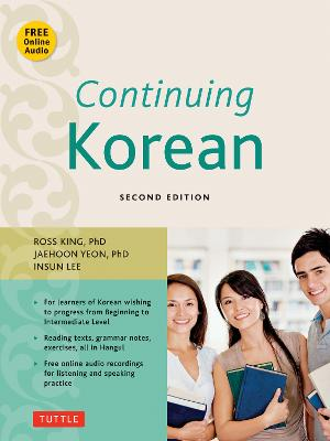 Continuing Korean by Ross King
