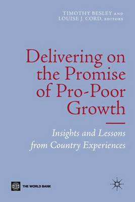 Delivering on the Promise of Pro-Poor Growth book