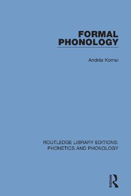 Formal Phonology book