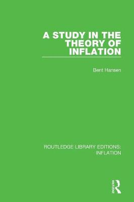 A Study in the Theory of Inflation book