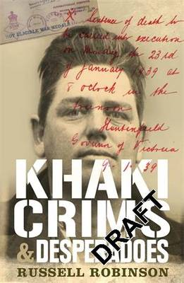 Khaki Crims and Desperadoes book