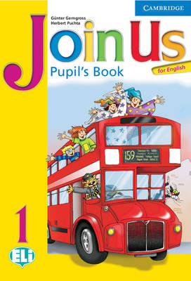 Join Us for English 1 Pupil's Book by Gunter Gerngross