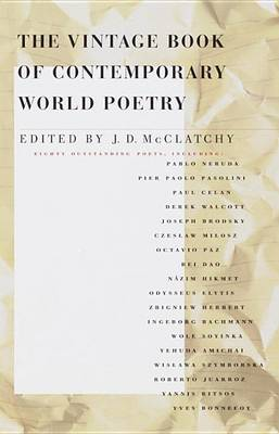 Contemporary World Poetry by J. D. McClatchy