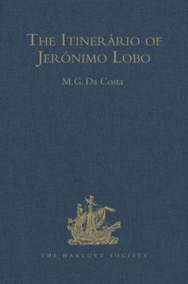 Itinerario of Jeronimo Lobo book