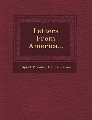 Letters from America... by Rupert Brooke