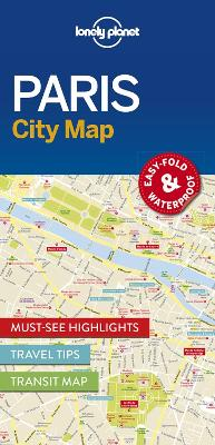 Lonely Planet Paris City Map by Lonely Planet