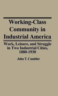 Working-Class Community in Industrial America by John T. Cumbler