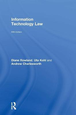 Information Technology Law by Uta Kohl