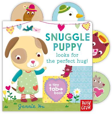 Tiny Tabs: Snuggle Puppy looks for the perfect hug book