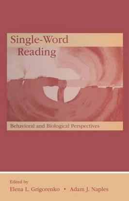 Single-Word Reading book