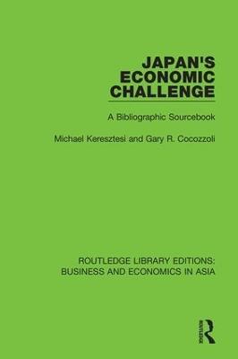 Japan's Economic Challenge: A Bibliographic Sourcebook book