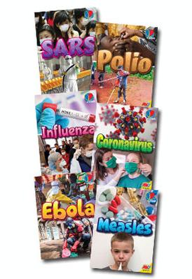 International Outbreaks Set of 6 Books by Heather C Hudak