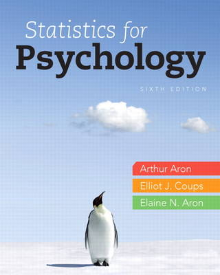 Statistics for Psychology by Arthur Aron