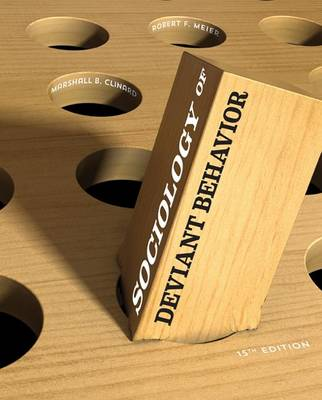 Sociology of Deviant Behavior book