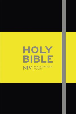 NIV Pocket Black Notebook Bible by New International Version