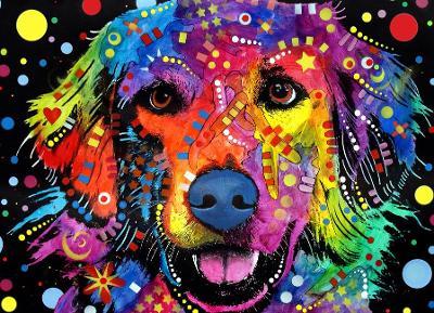 Love Is Golden Jigsaw by Russo Dean
