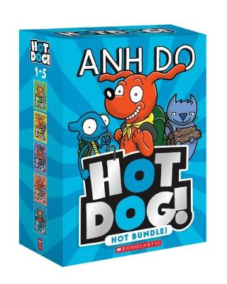 Hotdog 1-5: Hot Bundle! book