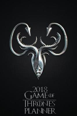 2018 Game of Thrones Planner - House of Greyjoy by Pyramid Planners