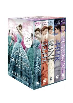 The The Selection Series 1-5: (The Selection, The Elite, The One, The Heir and The Crown) by Kiera Cass