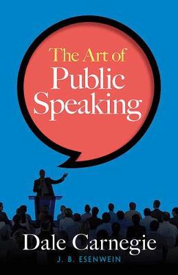 Art of Public Speaking book