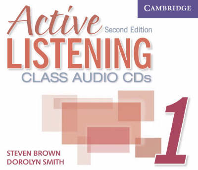 Active Listening 1 Class Audio CDs book