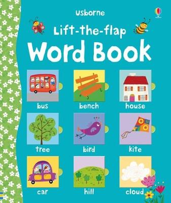 Lift the Flap Word Book book