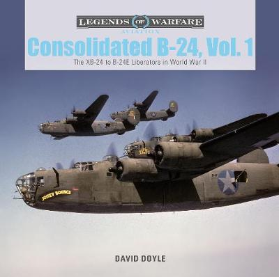 Consolidated B-24 Vol.1: The XB-24 to B-24E Liberators in World War II book