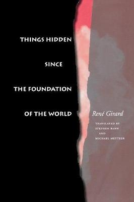 Things Hidden Since the Foundation of the World book