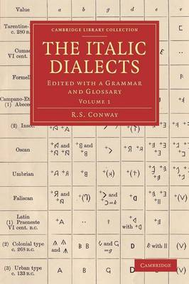 Italic Dialects by R. S. Conway
