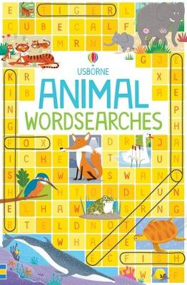 Animal Wordsearches book
