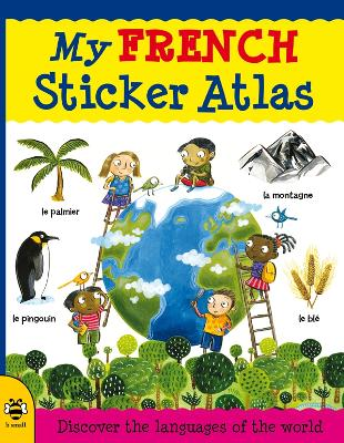 My French Sticker Atlas book