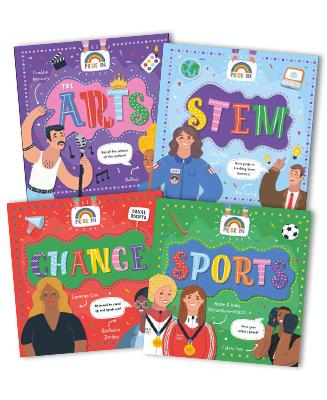 Pride In Set of 4 Books by Emilie Dufresne