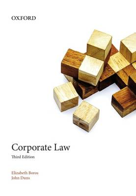 Corporate Law by Elizabeth Boros