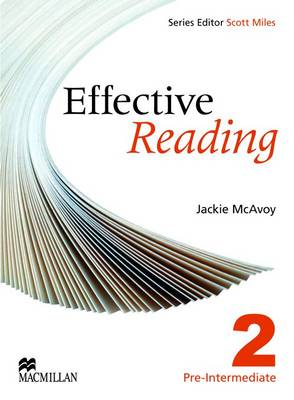 Effective Reading Pre Intermediate Student's Book by Jackie McAvoy