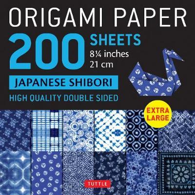 Origami Paper 200 sheets Japanese Shibori 8 1/4