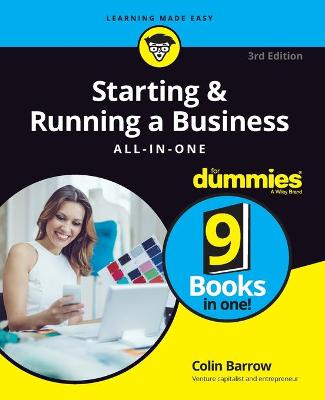 Starting and Running a Business All-in-One For Dummies book