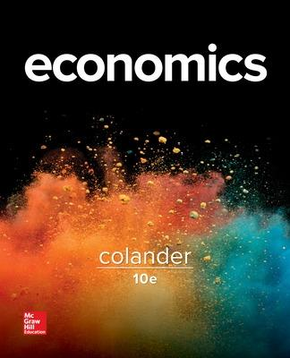 Economics by David Colander