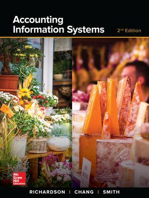 ACCOUNTING INFORMATION SYSTEMS by Vernon Richardson