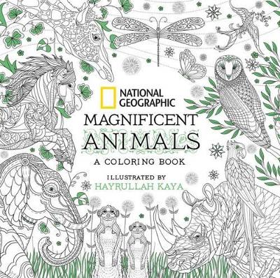 National Geographic Magnificent Animals: Coloring Book book